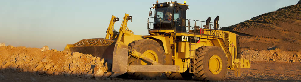 Cat Wheel Dozer Tractor